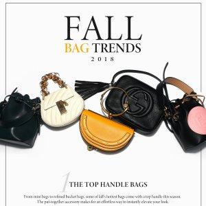 2018年度包包大赏 新款低至5折奢侈品网站新秀 Mia Maia 惊喜价买Gucci Loewe Celine