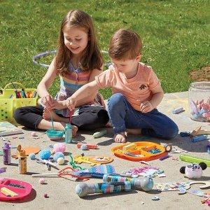 5折 + 额外8折 一起动手吧JOANN pop! 儿童创意手工品促销