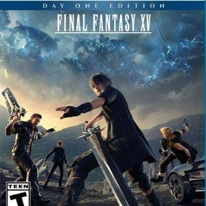 $18.50(原价$59.99)小田田离职 FF15清仓《最终幻想 15》PS4 / Xbox One 实体版