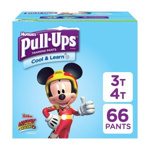$16.61Huggies Pull-Ups系列宝宝训练裤3T-4T 66片