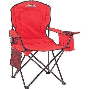 $14Coleman 超大尺寸 户外折叠椅 + 饮料冰袋