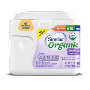 50% Off +  Extra 5% OffSimilac Organic with A2 Milk Infant & Toddler Formula, Pack of 6