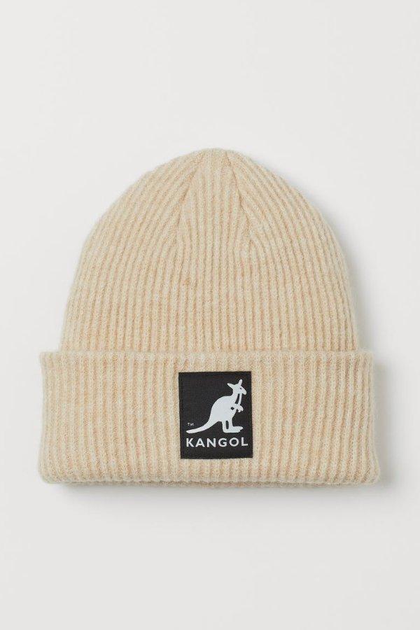 袋鼠毛线帽