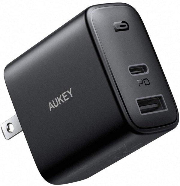 AUKEY 32W PD 双口 快充充电器
