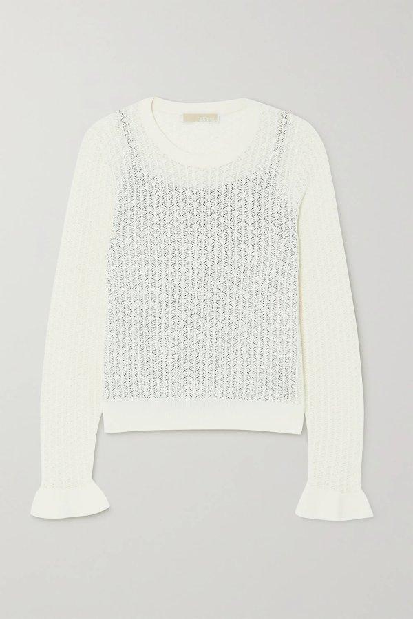 Crotchet-knit 上衣