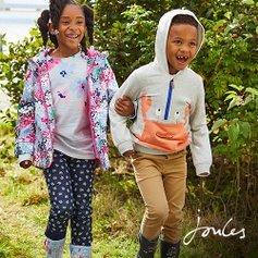 低至4折 收众多博主推荐雨靴Joules 英国高品质童装童鞋特卖