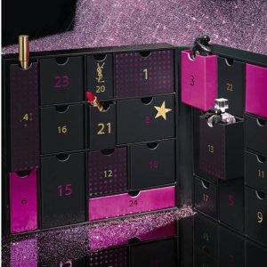 6折+包邮 仅需€173.7史低价:YSL 19年美妆圣诞日历官方上线 方管口红、黑鸦片香水都有
