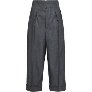 Marni羊毛丝质混合西裤