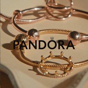 低至5折 €35收皇冠戒指Pandora 新年大促 美貌首饰热促 精选串珠、手链