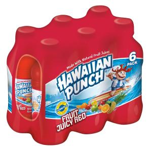 $7.52Hawaiian Punch Fruit Juicy Red 10pz 24 Count