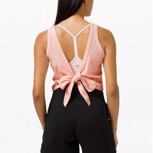 低至5折+包邮 Align紧身裤$89Lululemon 折扣区女款海量上新 封面上衣$39收