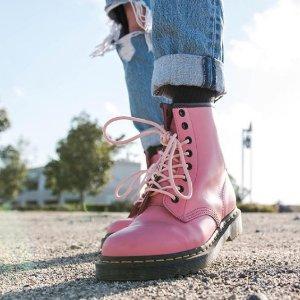 Dr. Martens3-8码全!1460 粉色马丁靴