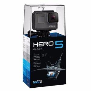 £275.42,使用优惠码还能立减10胖史低价:GoPro Hero5 Black 运动相机