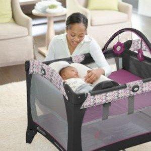 最高可减$75Graco 宝宝游戏床黑五特卖 出门旅行可代替婴儿床