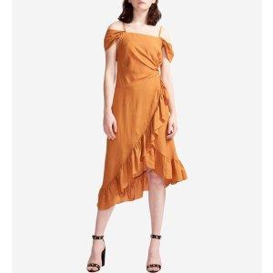 Maje吊带连衣裙
