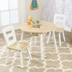 $69.99 (原价$120.91)KidKraft 儿童小圆桌+椅子套装,好价!