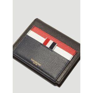 Thom BrowneFun-Mix Card Holder Wallet in Navy