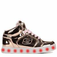 Skechers 高帮闪灯鞋