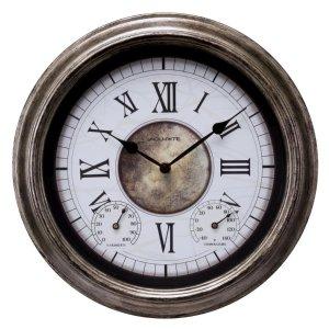$11.98AcuRite 圆形墙面装饰挂钟 14英寸