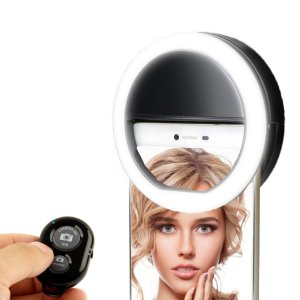 $12.74  (原价$24.99)闪购:KobraTech LED手机自拍补光灯 柔光美颜更轻松