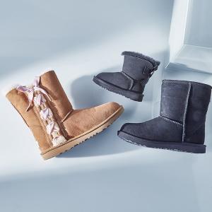 UGG、Gucci、Moncler 等儿童秋冬靴子降价 首次出现Dior儿童皮靴