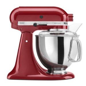 $279.99 + 价值$75 Kohl's Cash提前享:Kitchenaid Artisan系列厨师机 5夸脱 多色可选