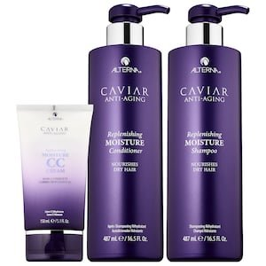 CAVIAR Anti-Aging® Replenishing Moisture Jumbo Kit - ALTERNA Haircare | Sephora