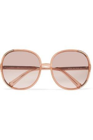 Chloe Myrte square-frame acetate sunglasses