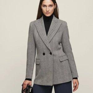 Reiss羊毛混纺西装外套