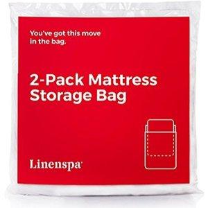 $2.44Linenspa 床垫收纳袋2个 Queen