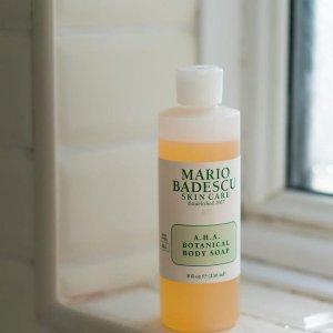 仅$10.87 温和洁净身体Mario Badescu AHA 果酸草本嫩白沐浴露 消灭背部痘痘