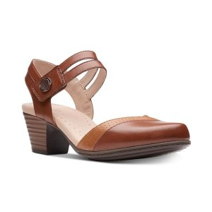 b4e8f8bf9ee Clarks Collection Women s Ayla Blair Flats. ClarksCollection Women s  Valarie Rally Sandals