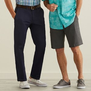 2 Pants for $60+ 2 Shorts  for $40Select Styles Sale@ Haggar