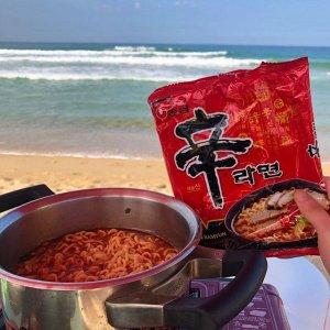 低至7.6折 €0.97收农心虾条Nong Shim 农心各款拉面、杯面、零食热卖 宅家刚需