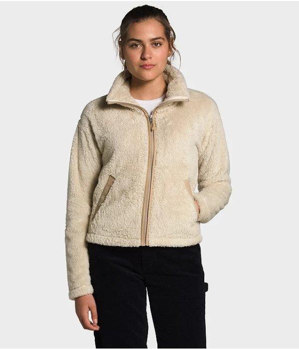 女士羊羔毛外套