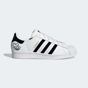 AdidasSuperstar 黑白小爱心