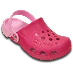童款Electro 洞洞鞋,6色选