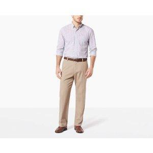 DockersEasy Stretch Khaki Pants, Relaxed Fit