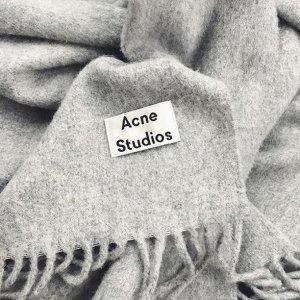 6折起 €72收纯色围巾ACNE STUDIOS官网 精选美衣围巾闪促 瑞典极简风走起来