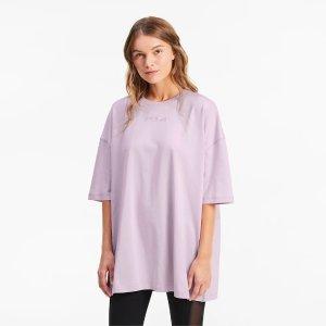 PumaOversized 香芋紫T恤