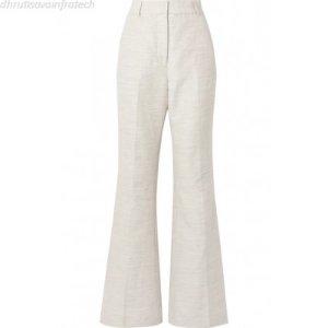Rebecca Vallance | Maya cotton and linen-blend wide-leg pants 1041739