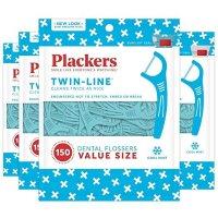 Plackers Twin-Line牙线 150支 4包 共600支