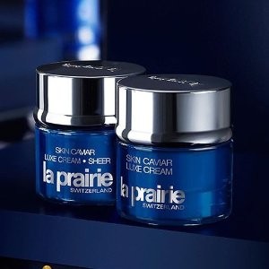 Earn Up to a $700 Gift Cardwith La Prairie Skincare and Beauty Purchase @ Saks Fifth Avenue