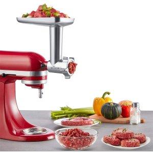 $78.99(原价$99.99)Gvode KitchenAid 厨师机专用 全金属绞肉/灌肠通用配件