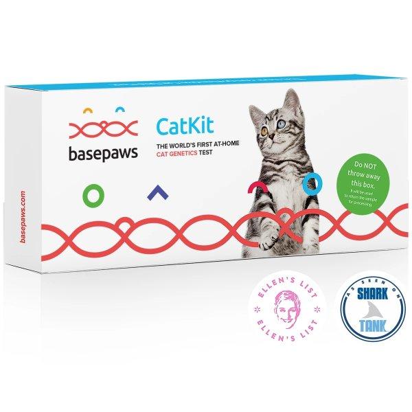 Basepaws 猫咪DNA+健康检测套装