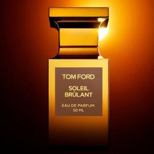 售价$435+送Tom Ford 香水中样上新:Tom Ford 新香  Soleil Brulant 柑橘佛手香 定制你的私人夏天