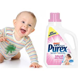 $3.63(原价$5.98)Purex 婴幼儿专用洗衣液 2.26升 只为娇嫩的你