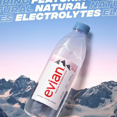 £15收一箱24瓶依云矿泉水补货:Amazon 依云 Fiji Voss 等矿泉水、气泡水热卖