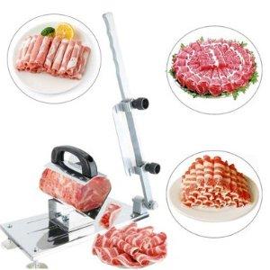 $22.86(原价$59)手动冻肉刨片机 轻松刨出羊肉片 在家火锅涮起来