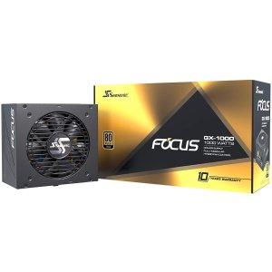 $169.99 GX全系列降价补货补货:Seasonic FOCUS GX-1000 1000W 80+金牌 全模组电源